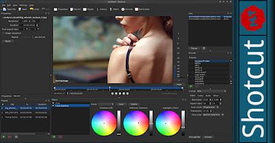 Shotcut, Δωρεάν Πρόγραμμα Επεξεργασίας Βίντεο, Widows, Linux, Mac OS X