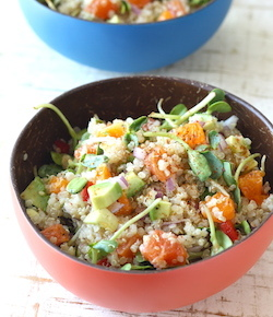quinoa salad with asian dressing recipe by season with spice shop