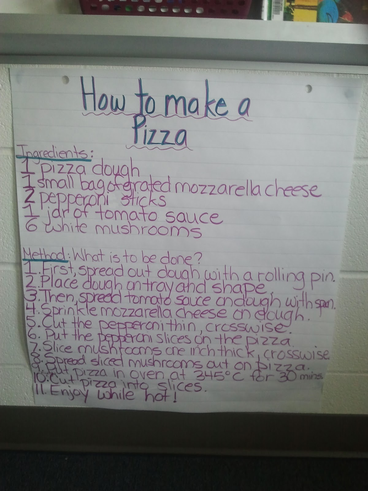essay how to make pizza
