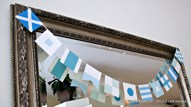 Craftiments.com:  Free Printable Maritime Signal Flag Bunting