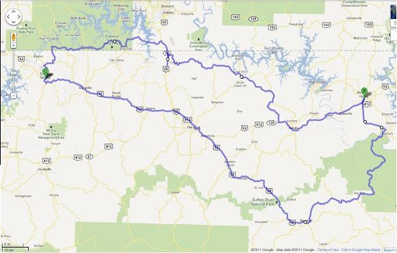 Arkansas Motorcycling Take Two