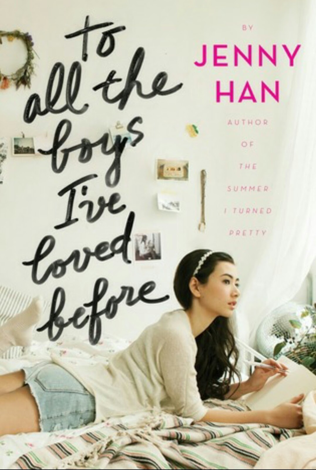 Pivot Book Reviews: Cover Puppies (14) - To All The Boys I've Loved Before by Jenny Han