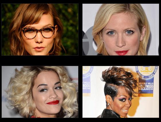 Fotos de cortes de cabelos femininos