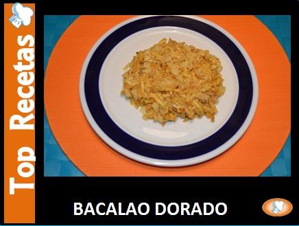 RECETA - BACALAO DORADO