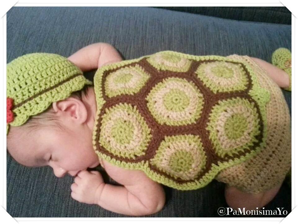 tortuga turtle ganchillo crochet @pamonisimayo