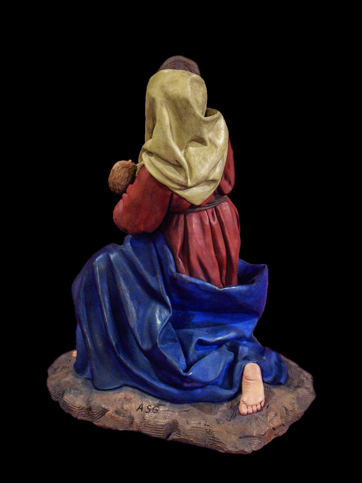 Nacimiento Belén Nativity krippe presepe Arturo Serra Barro 4