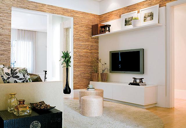 Como decorar salas pequenas  AnInteriores ~ Como Decorar Uma Sala De Estar Pequena Gastando Pouco