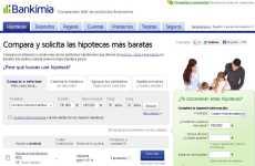 Comparador de hipotecas online: Bankimia