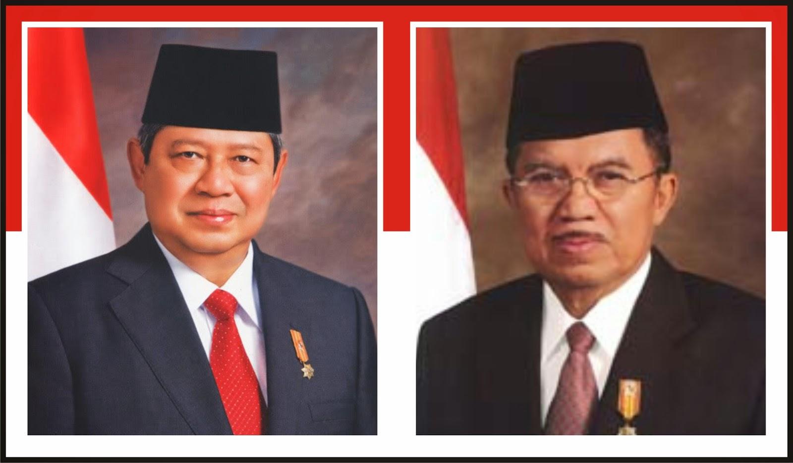 Susilo Bambang Yudhayana dan Yusuf Kalla