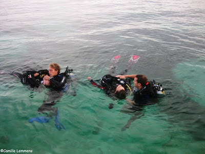 PADI IDC Malapascua, November 2012, rescue exercise # 7