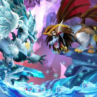 imagen del combate de dragon city