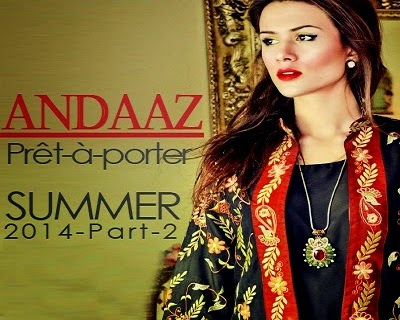 Andaaz Formal Party Wear Summer Collection