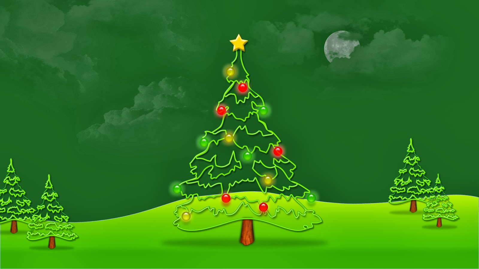 Hot looking christmas tree top wallpapers for Best looking christmas tree