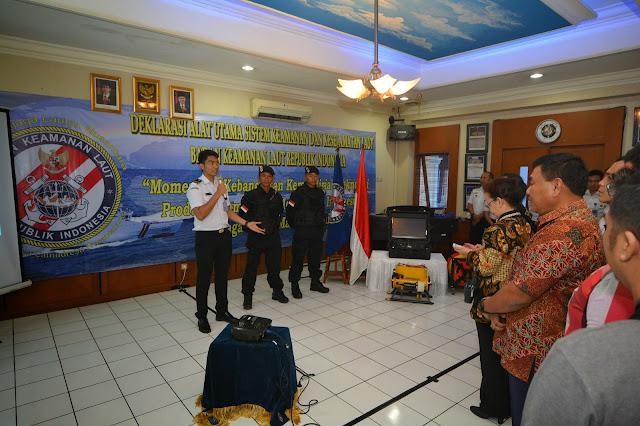 Bakamla Deklarasikan Alutsis Keamanan dan Keselamatan Laut Buatan dalam Negeri