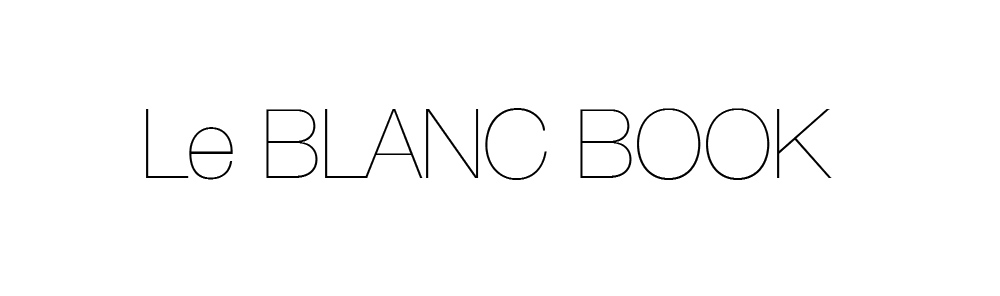 Le BLANC BOOK