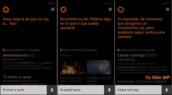 Cortana 191 qu 233 le podemos decir tu sitio windows phone
