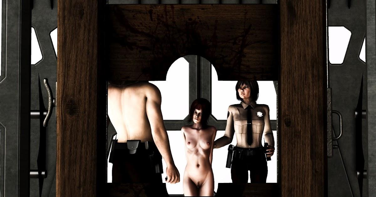 Dark erotic guillotine art new sex images