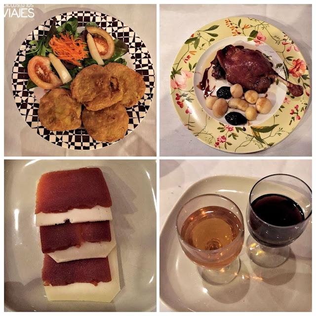 Cena en Casa Etxalde