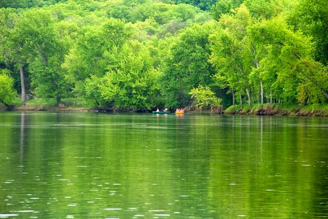 Canoeing the St. Croix on a Spring Saturday