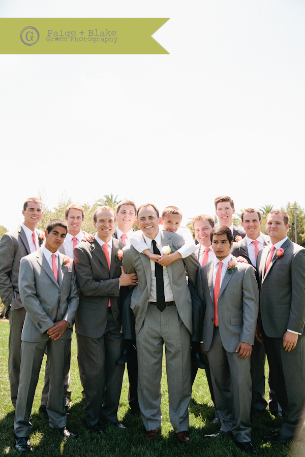 Studly Groom and Groomsmen  : Photo by Paige and Blake Green