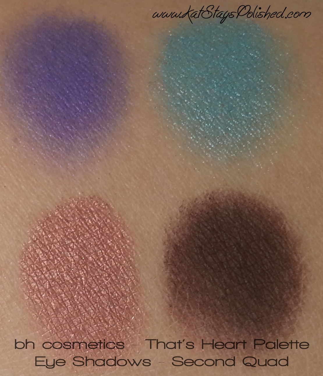 BH Cosmetics - That's Heart Palette | Kat Stays Polished