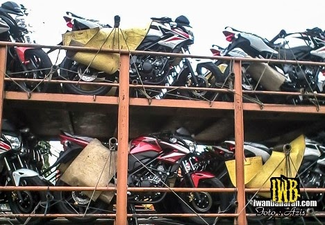 Ini dia strriping baru Honda CB 150R untuk awal 2014