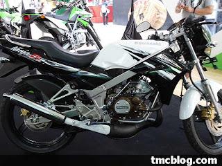 Kawasaki Ninja 150 white