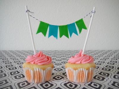 Decoração de cupcakes para festa junina