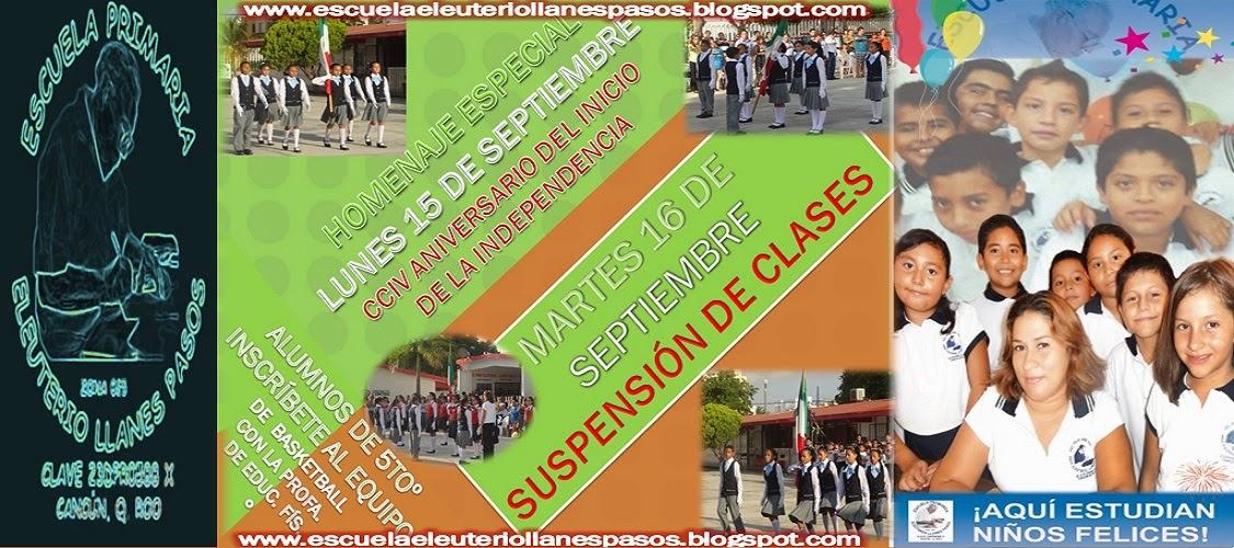 Actividades de la Escuela Eleuterio Llanes Pasos