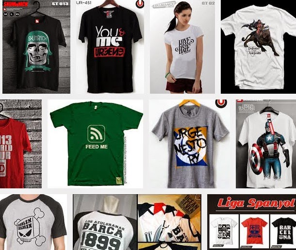 Tips Memilih T Shirt Distro