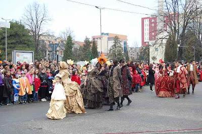 Carnevale di Scutari - un rituale che dura dal 1860