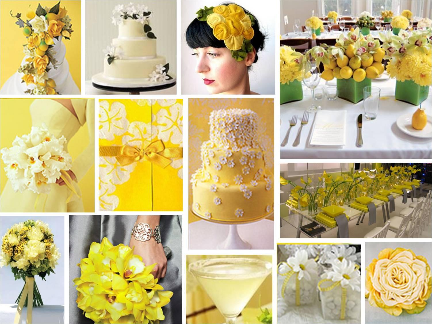 CoolBananaS Yellow Wedding Theme