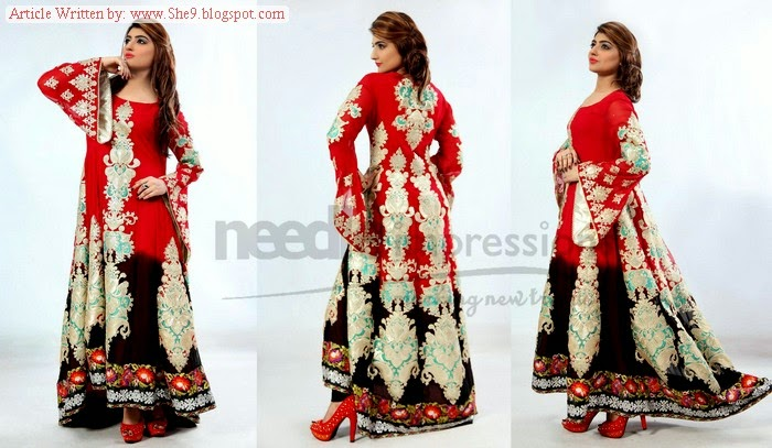 Needle Impression Ready to Wear Eid Collection 2014