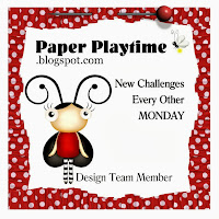 Happy to be a part of Paper Playtime DT