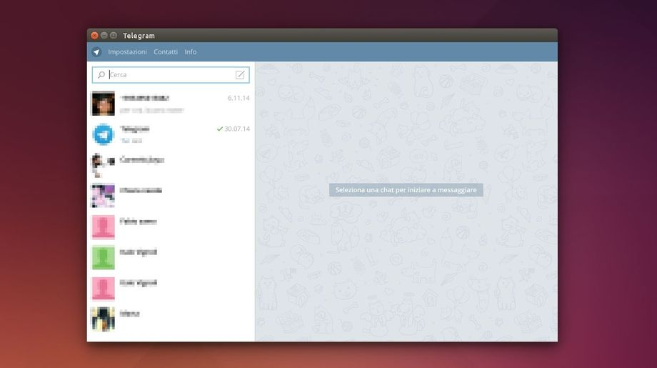 Telegram Desktop in Ubuntu