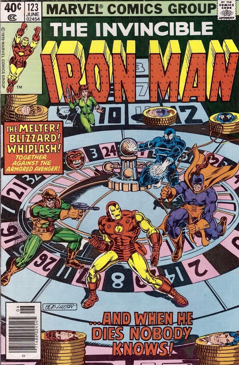 Marvel Comics of the 1980s: 1979 - Anatomy of a Cover - Iron Man ...