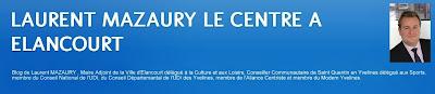 LAURENT MAZAURY LE CENTRE A ELANCOURT