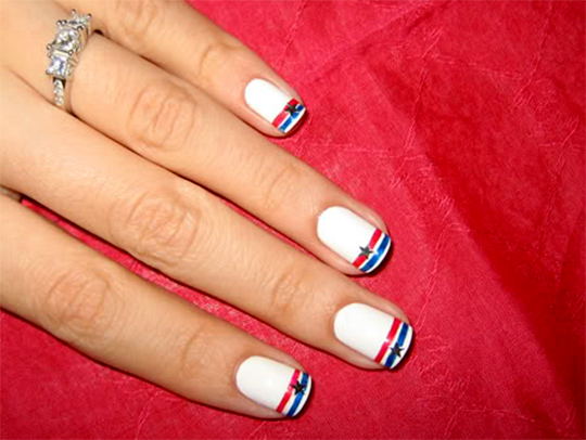 stars and stripes nails