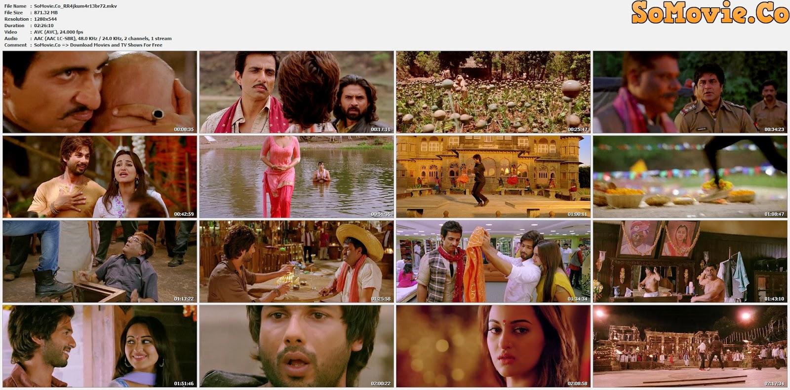 movie screenshot of R... Rajkumar fdmovie.com