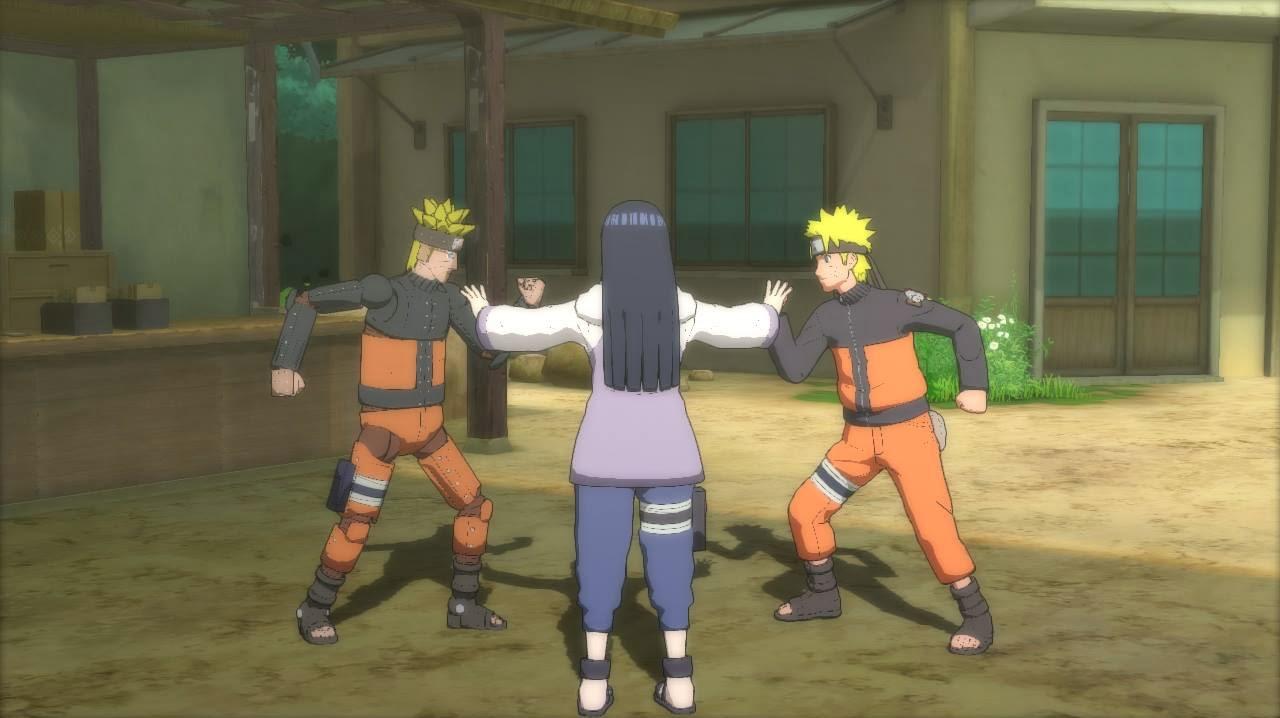 Naruto vs Mecha Naruto in Storm Revolution Ninja World Tournament