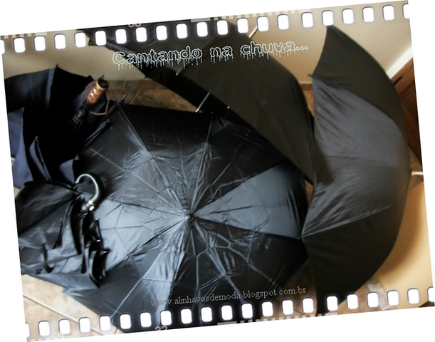5 guarda-chuvas e o jogo dos 4 erros