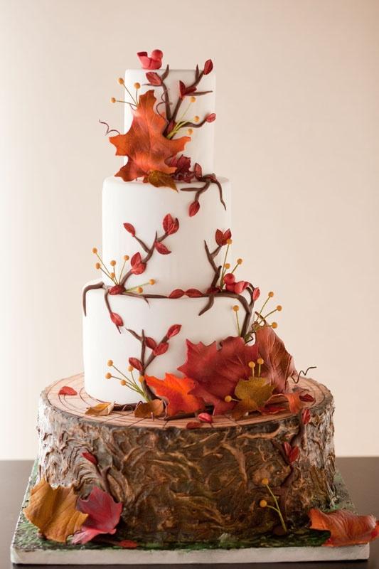 Bride In Dream Autumn Theme Wedding Ideals