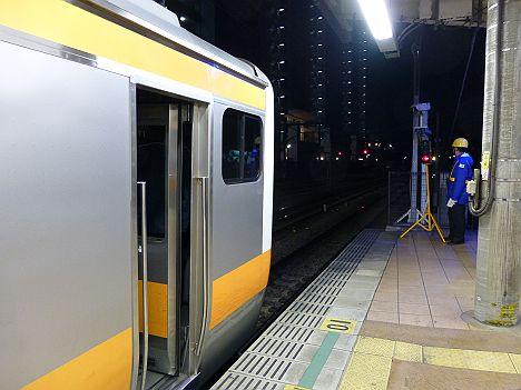 中央線 西国分寺行き E233系(中央線国立駅工事に伴う運行)