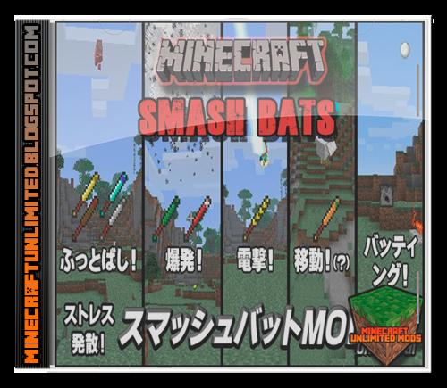 Smash Bats Mod Minecraft