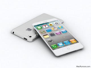 iPhone 5 Putih Tipis