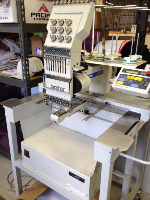 embroidery machine for sale used