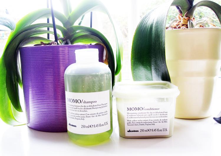 Davines MOMO Shampoo & Conditoner for Dry/Dehydrated Hair