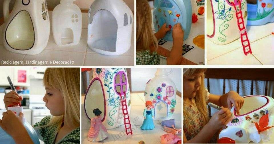 Como hacer una casa de muñecas ~ Portal de Manualidades
