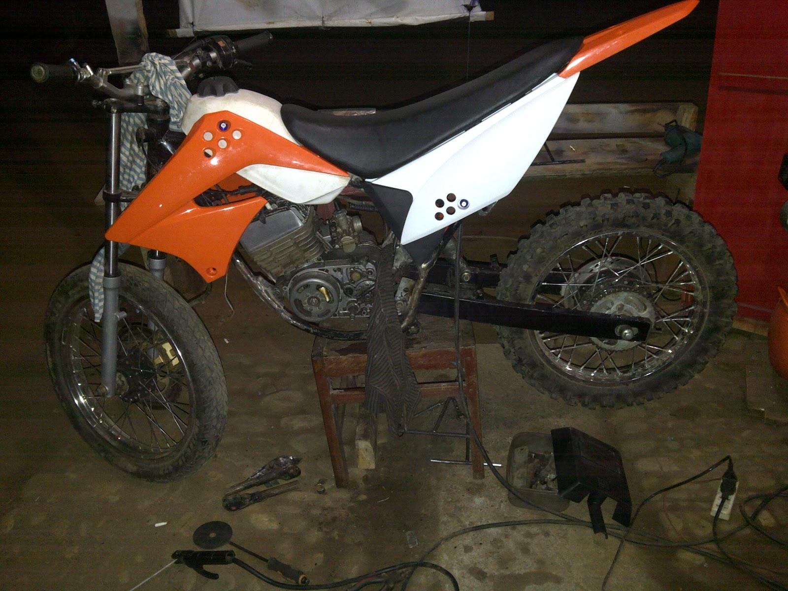 modifikasi motor trail yamaha rx