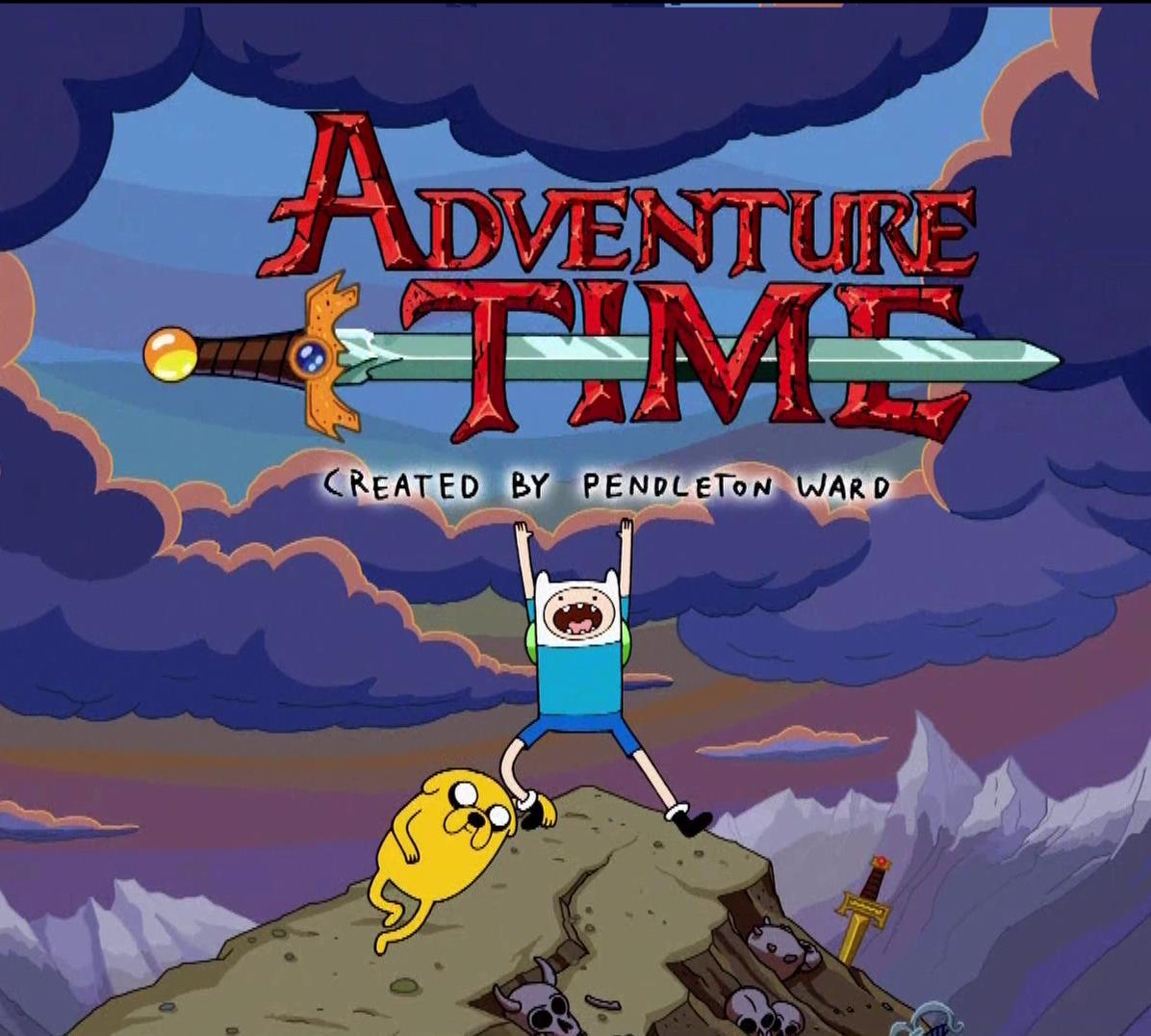 Adventure time no brasil hora de aventura é uma série de desenho